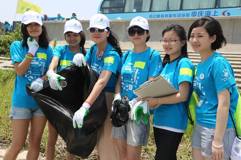 HOS沙滩清洁活动